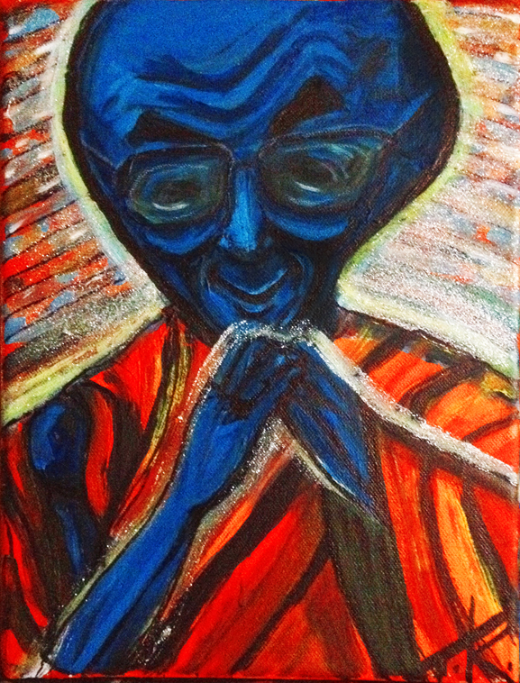 similar alien art tim kelly artist broonkly nyc alien art alien dahli lama art