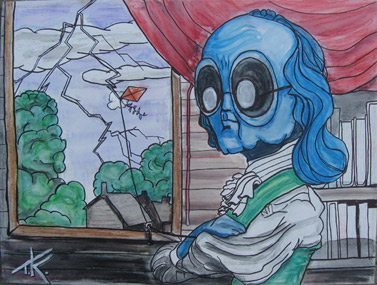 alien ben franklin tim kelly artist similar alien
