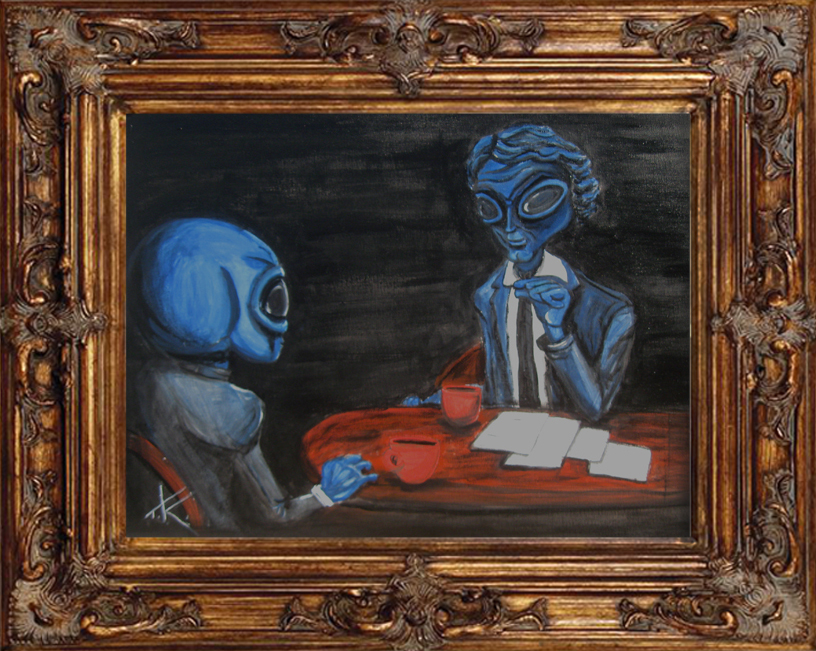 alien charlie rose tim kelly artist similar alien art nyc