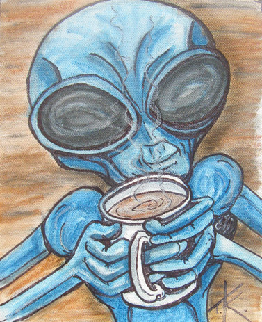 tim kelly artist alien java love