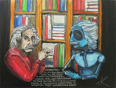alien einstein similar alien tim kelly artist nyc alien art