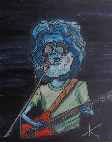 alien jerry garcia similar alien tim kelly artist