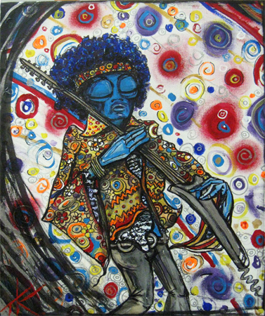 alien jimi hendrix tim kelly artist similar alien art is good