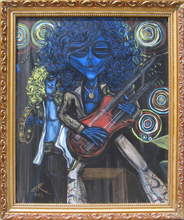 similar alien jimi page tim kelly artist nyc