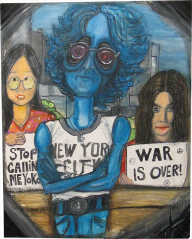 alien john lennon tim kelly artist similar alien art nyc