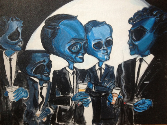 similar alien rat pack tim kelly artist brooklyn alien art nyc