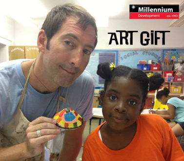 art is good millennium development brooklyn queens new york after-school art community art nyc tim kelly artist