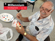 art is good carmine carro community center tim kelly artist millenium developemnt active seniors art nyc brooklyn