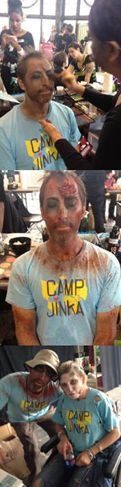 tim kelly artist camp jinka zombie walk asbury nj