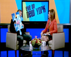 cbs news puzzle project tim kelly artist interview video eye on new york dana tyler