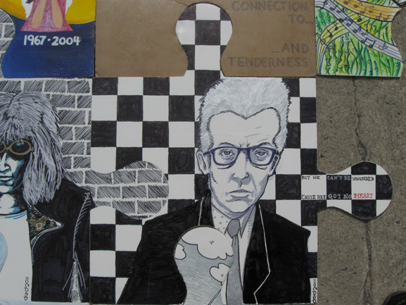 puzzle art project tim kelly artist elvis costello art