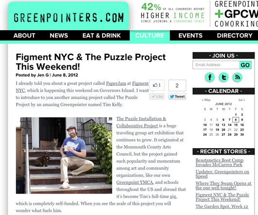 The Greenpointer blog