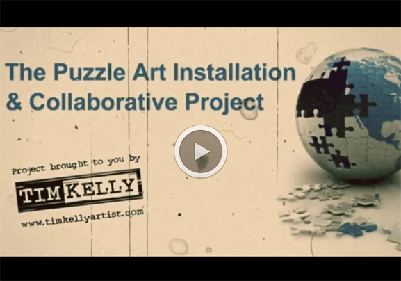 puzzle art project video julian zee