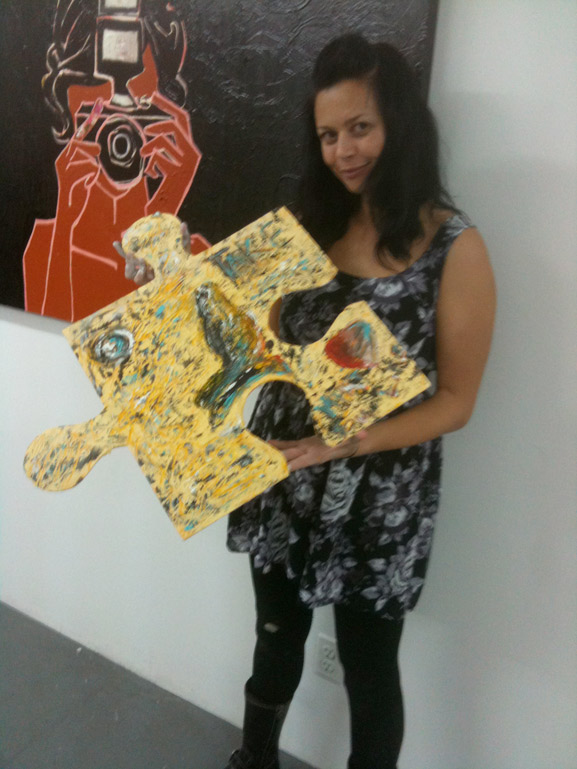 reaves gallery nyc puzzle art project tim kelly artist nyc sharon reaves
