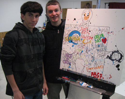 puzzle project tim kelly artist monmouth arts council teen arts festival surftaco nj nyc art is good
